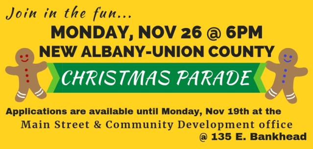 Christmas Parade Update