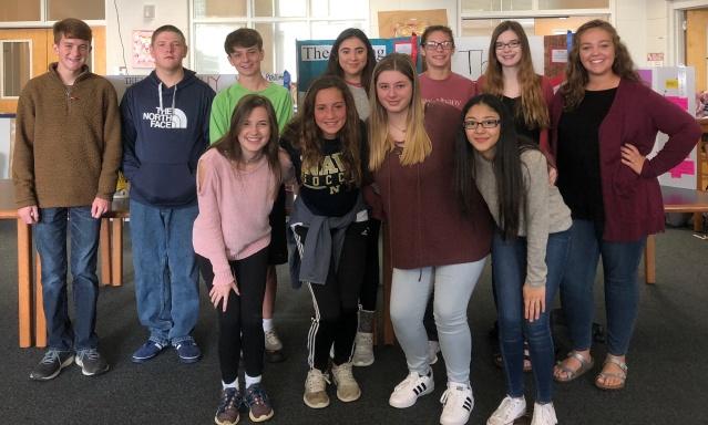 NAHS Reading Fair Winners