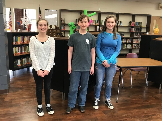NAMS Spelling Bee Winners 2018