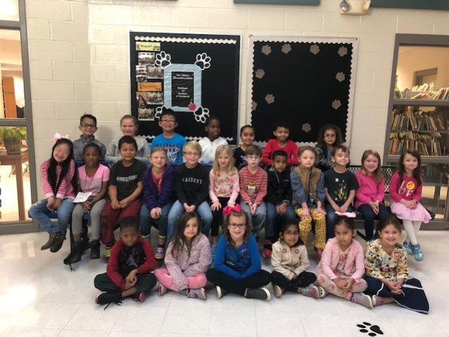 October Students of Month NAES K2