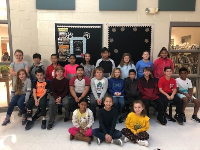 October Students of the Month NAES 35