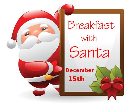 Ecru Breakfast with Santa
