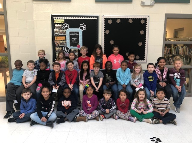 NAES November Students of Month K 2