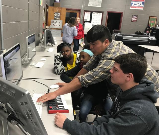 Career Tech Visit 1 5th Grade