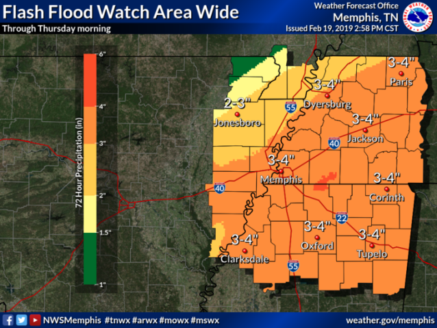 Weather Update- Heavy Rains, Flash Flooding – Feb 20, 2019 – HCN Today