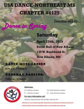 april dance