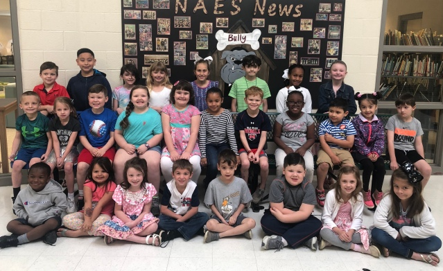 April Students of Month K 2 NAES
