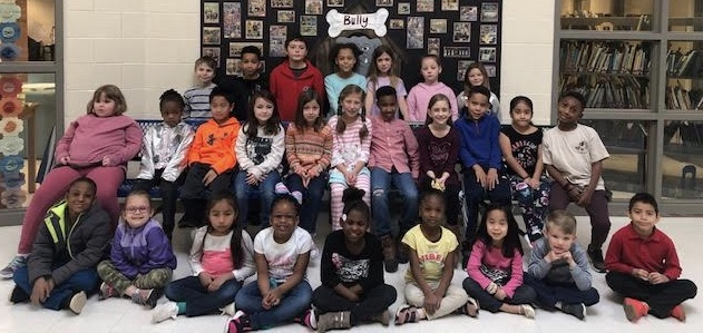 March Students of Month K 2