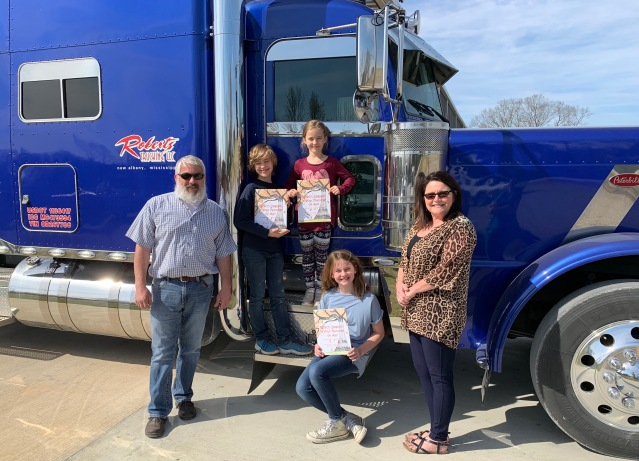 Roberts Trucking Donation
