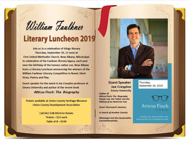 wm faulkner luncheon